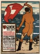 Vintage Swiss poster - Geneve, the June festival (1914)